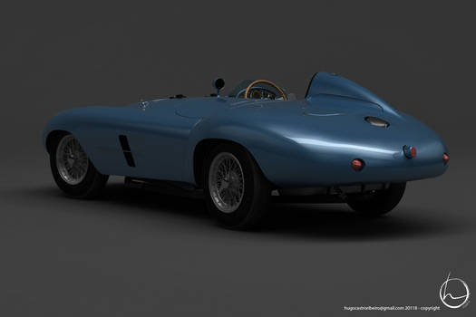 1953 Ferrari 500 Mondial