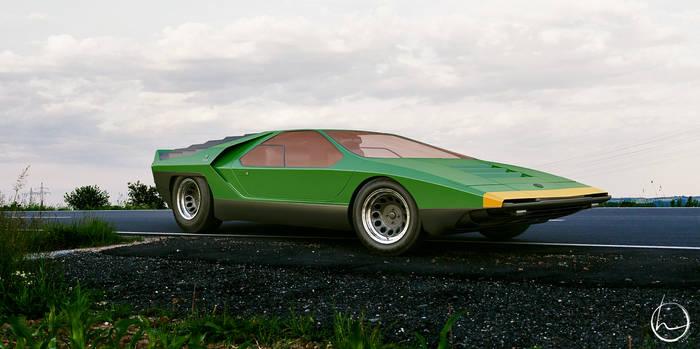 1968 Alfa-Romeo Carabo concept