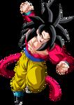 Goku (Super Saiyan 4) Palette #2