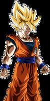 Goku (Super Saiyan) by TheTabbyNeko