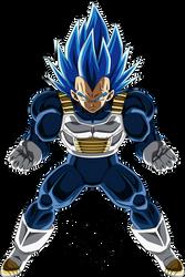 Super Vegeta SSB Evolution Palette