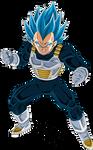 Vegeta (Super Saiyan 2) Broly Movie SSB Palette