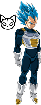 Vegeta (Super Saiyan Blue) Palette #3