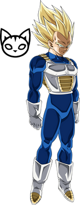 Vegeta (Super Saiyan Blue) Super Saiyan Palette