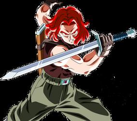 Xeno Trunks (Super Saiyan God)
