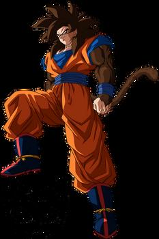 Goku (Super Saiyan 4) [Gi] Palette #3