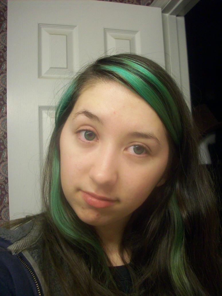 Hazel green blue eyes