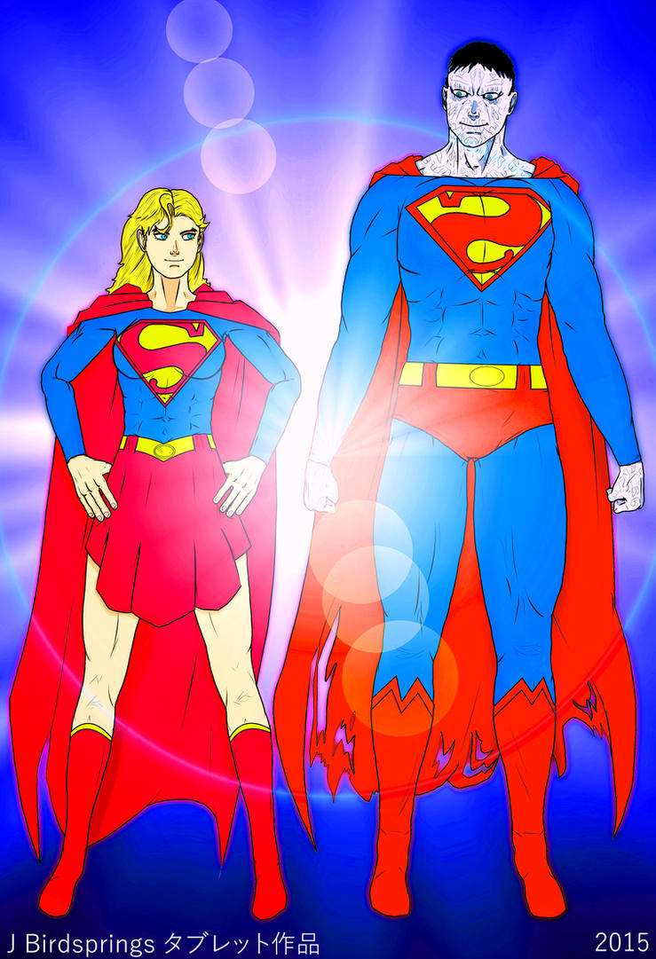 Supergirl-Beauty and the Beast by J-BIRDSPRINGS