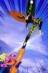 RE-A Test of Strength! Goku VS Cell!! by J-BIRDSPRINGS