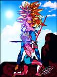RE-DragonBallZX-SecondCut-GoodBadGirls by J-BIRDSPRINGS