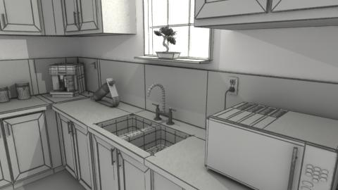 Kitchen Render By 5h4dow ...