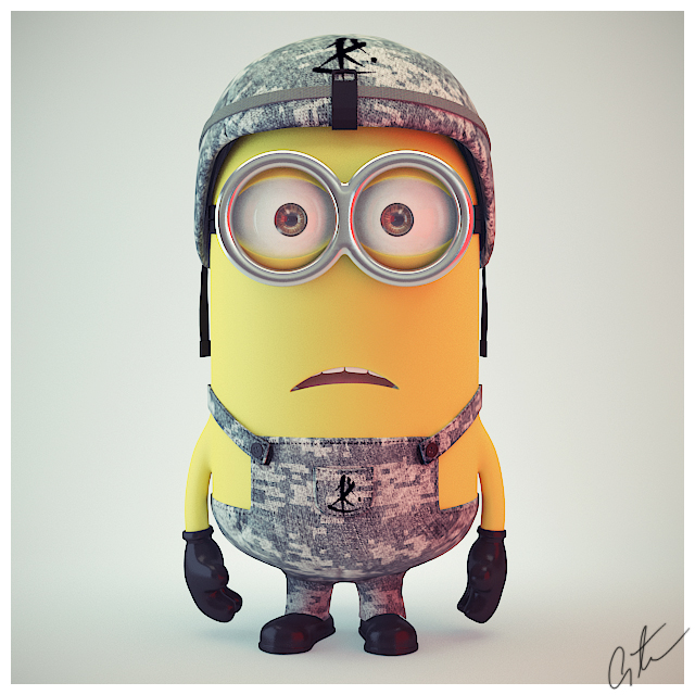 Minion Post Deviant By 5h4dow On DeviantArt