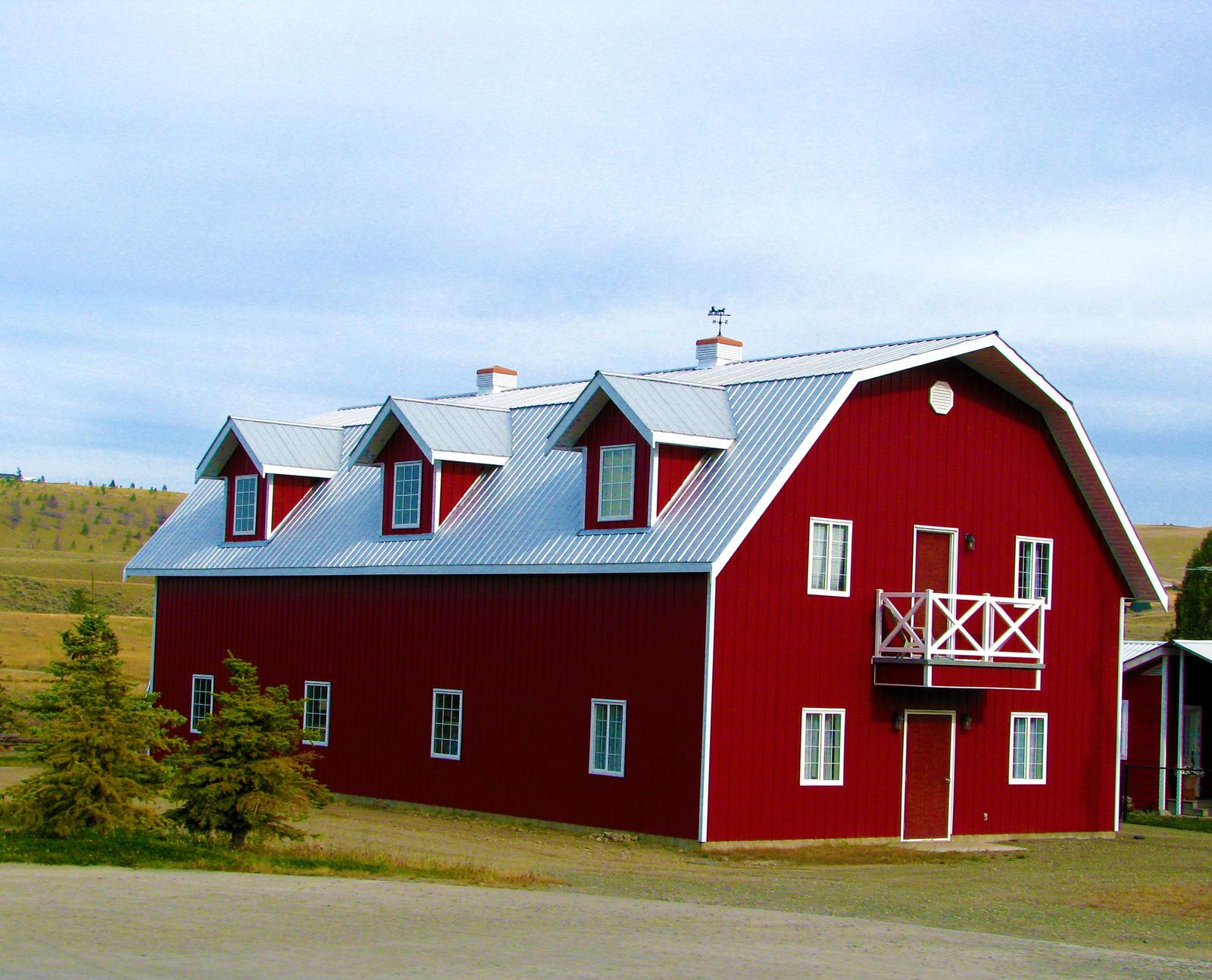 Red Barn Building By Techdrakonic On Deviantart