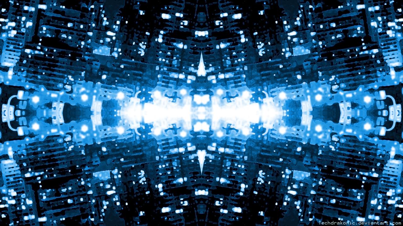 Abstract City Lights Wallpaper by Techdrakonic on DeviantArt