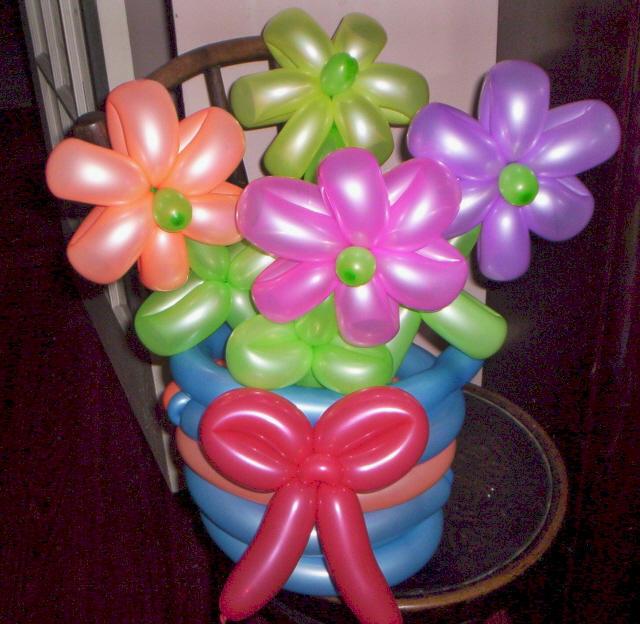 Balloon Bouquet by Jester-man on deviantART