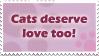 Cats Need Love Too by xBLOODYSMILEx