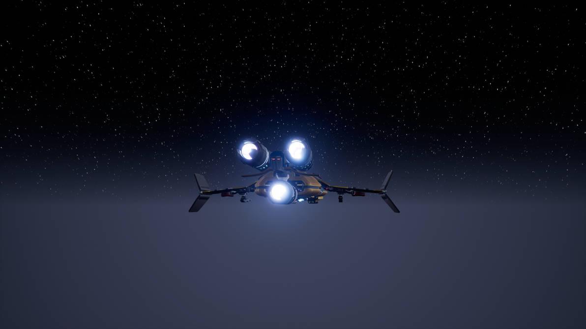 UE4] Sci-fi ship engine by TechLevel on DeviantArt