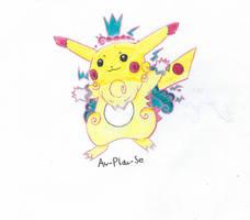 Cosmopoliturtle's Gigantamax Pikachu