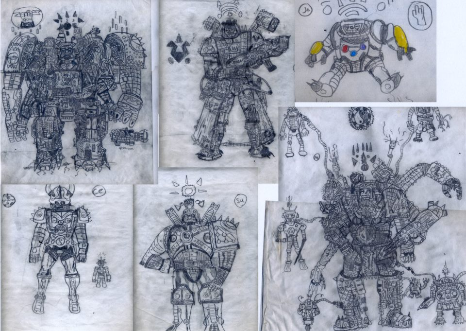AZTEKIAN BREEDS by warblaster