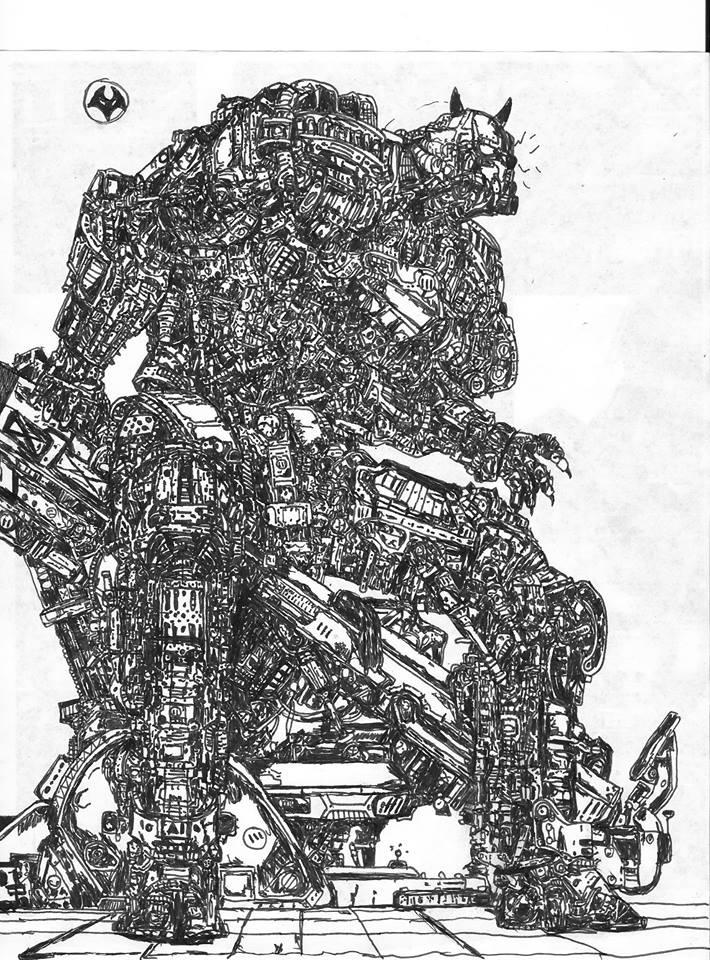 cyborg by warblaster