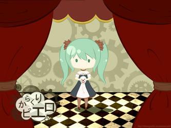 Karakuri Pierrot by chibimeganekko-tan