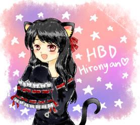 Happy -late- Birthday Hiro! by chibimeganekko-tan