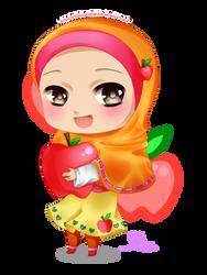 AppleLora's Iza-chan by chibimeganekko-tan