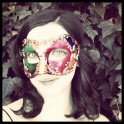 Venetian Mask series 7 by MoonfootGamgee