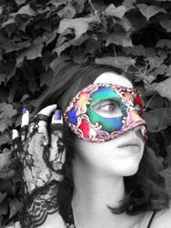 Venetian Mask series 8 by MoonfootGamgee