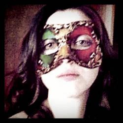 Venetian Mask series 12 by MoonfootGamgee