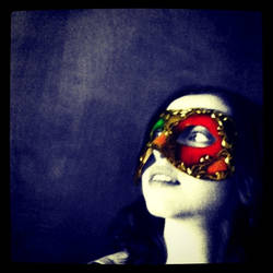 Venetian Mask series 16 by MoonfootGamgee