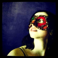 Venetian Mask series 17 by MoonfootGamgee