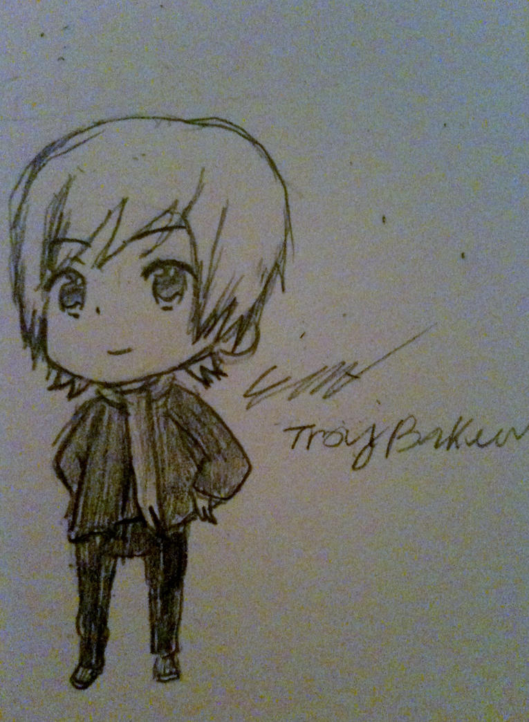 Troy Baker - Himaruya Style by xXInvaderEmXx