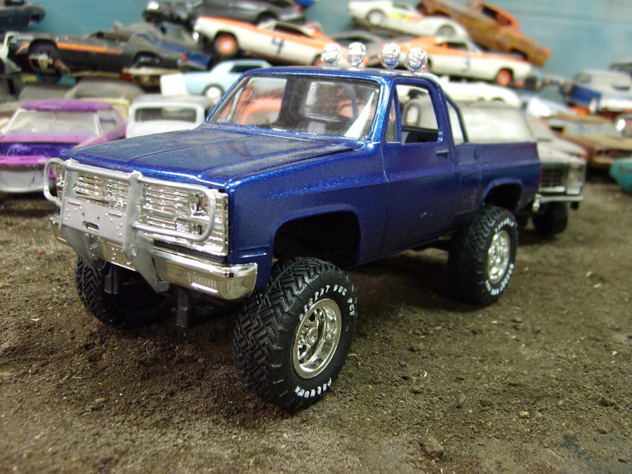 80s chevy 4X4 by rustyoldmodels on DeviantArt