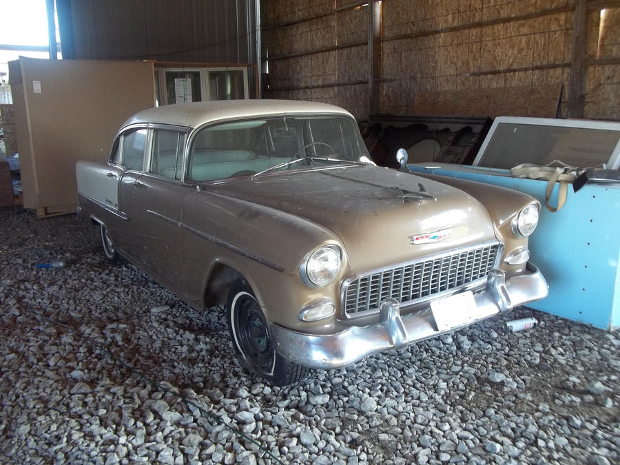 55 chevy bel air FOR SALE 10,000 by rustyoldmodels on DeviantArt