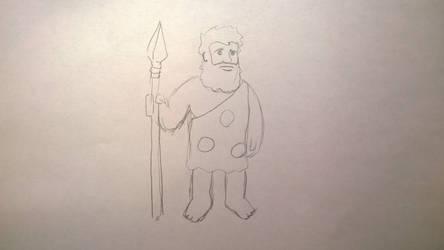 Caveman #5 by gritsenkobiz