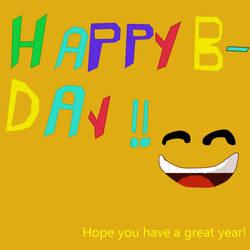 Happy B-day G-Ratch!