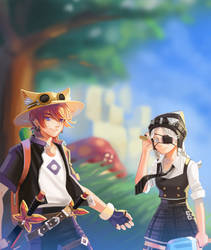 [Commission] MS2 - New Adventure