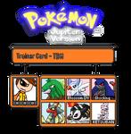 My Trainer Card (Pokemon Jupiter) - TBM by thebestmlTBM