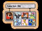 My Trainer Card - Pokemon White 2 by thebestmlTBM