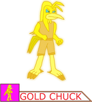 Gold Chuck by thebestmlTBM