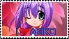 Akiko Minase - EFZ Stamp by thebestmlTBM