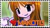 Makoto Sawatari - EFZ Stamp by thebestmlTBM