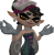 Squid Sister Callie Shrug Icon