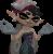Squid Sister Callie Shrug Icon