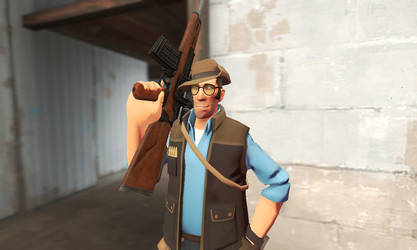 GMOD - Sniper has a Rare Weapon (REDO)