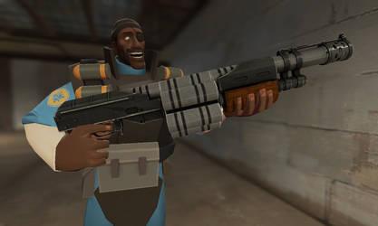 GMOD - Demoman has a Rare Weapon