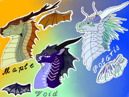 Wings of Fire Hybrid Headshot Adopts