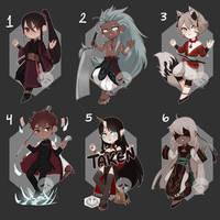 [Adopts] Chibis || USD/Flat | closed by skele-tea