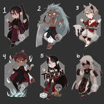 [Adopts] Chibis || USD/Flat | closed